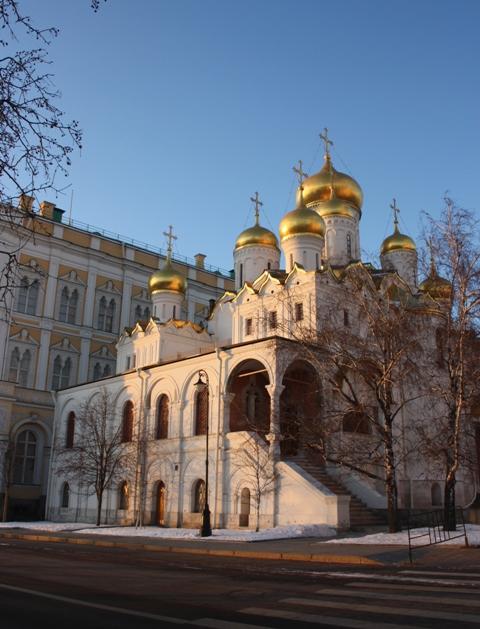 Благовещенский собор Московсского Кремля.