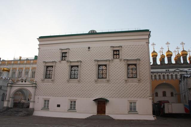 Грановитая палата Московского Кремля.