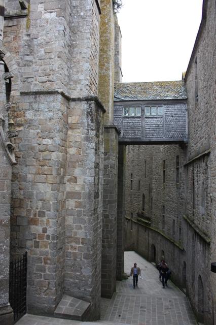 Внутренний Великий подъем аббатства Мон-Сен-Мишель