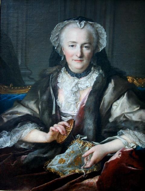 Портрет мадам Данже, художник Л. Токке