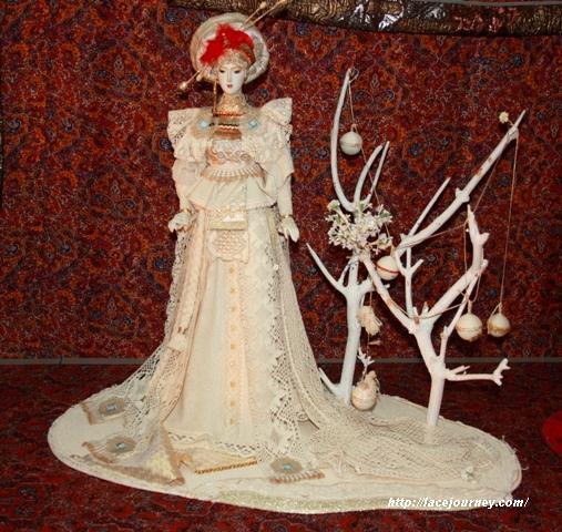 Кукла «Японская Вологда», 2008, фарфор, текстиль, Елена Пелевина.