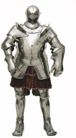 Рыцарский доспех Генриха VIII.
