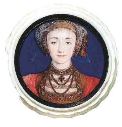 Портрет Анны Клевской. Миниатюра. 1539