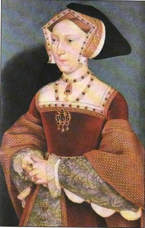 Портрет Джейн Сеймур, королевы Англии. 1536.