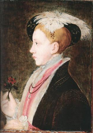 Портрет короля Эдуарда VI. Англия.