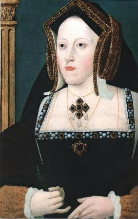 Портрет Екатерины Арагонской. Около 1530.