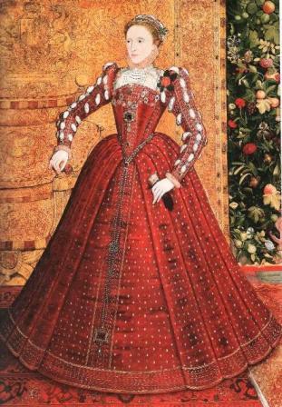 Портрет королевы Елизаветы I (Хэмпдэнский портрет).