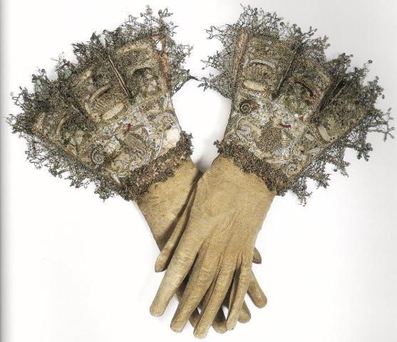 Перчатки. Англия, около 1600-1620.