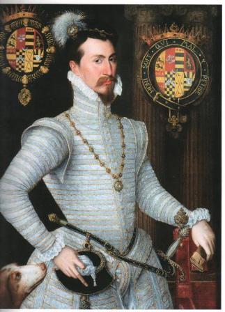 Портрет Роберта Дадли, графа Лейстера.