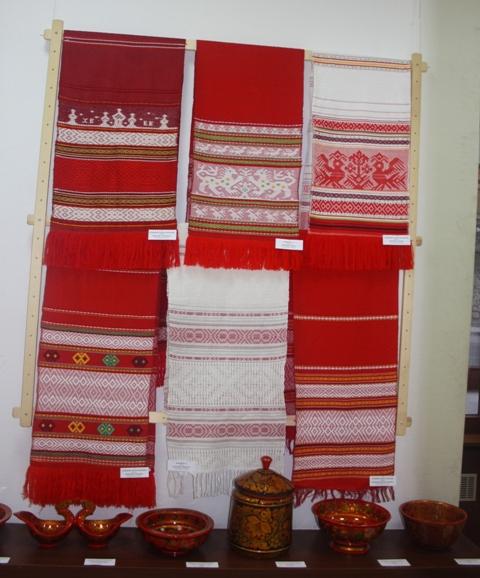 Тканые полотенца из Шахуньи Нижегородской области