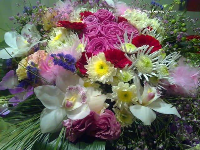 Цветы на 8 Марта.