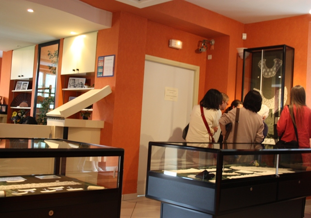Музей кружева в Аржантане.