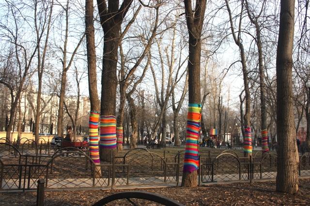 Москва. Покровский бульвар. Детский парк.