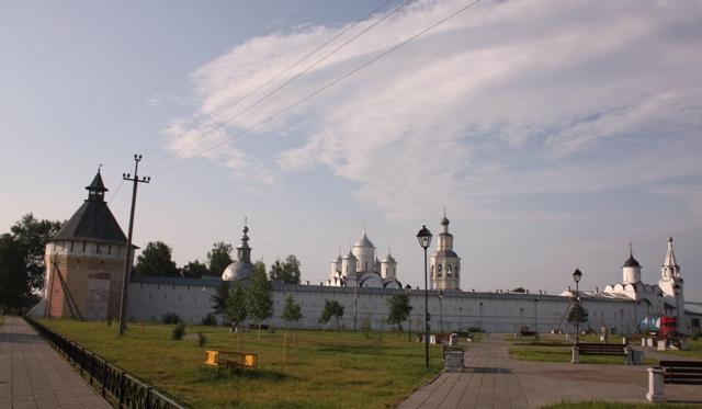Вологда. Спасо-Прилуцкий Дмитриев монастырь, основан 1371 г.