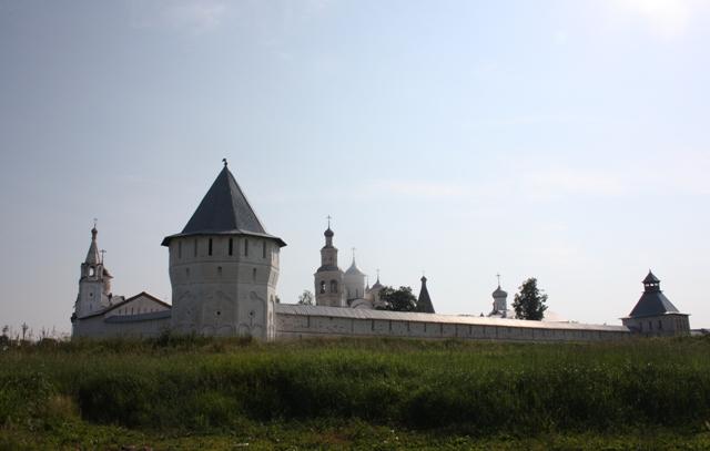 Вологда. Спасо-Прилуцкий Дмитриев монастырь, основан в 1371 году святым Дмитрием Прилуцким.