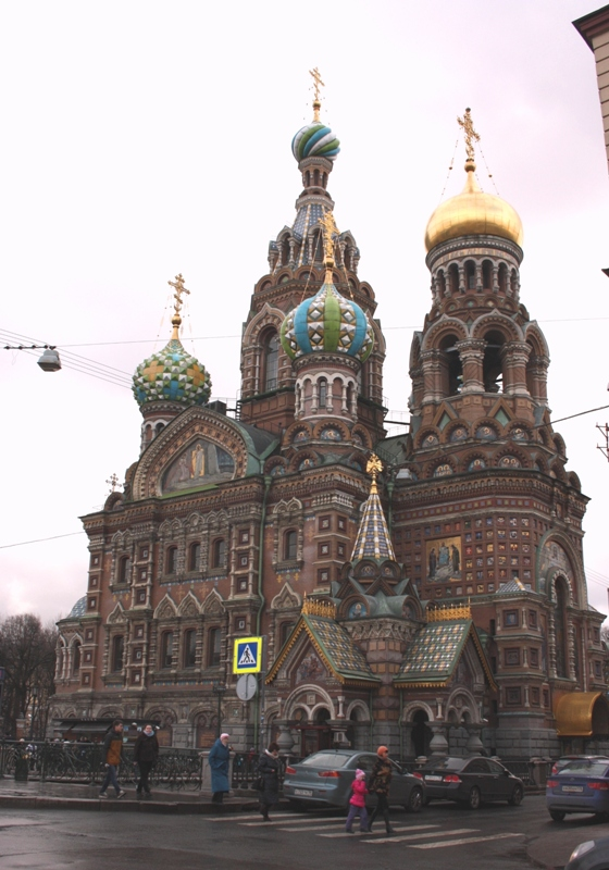 Санкт-Петербург. Храм Воскресения Христова (Спас-на – крови). 1883-1907.