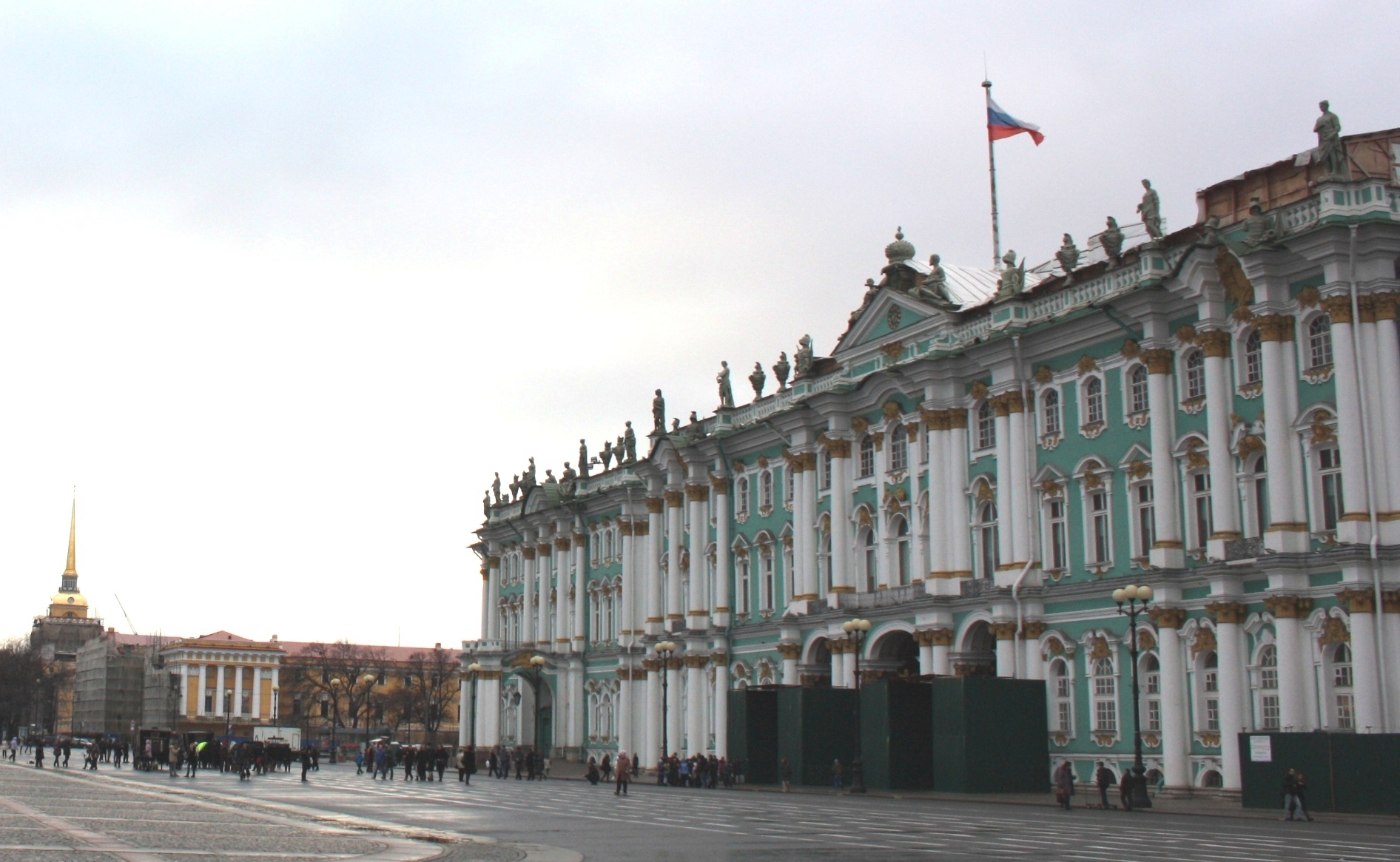 Санкт-Петербург. Дворцовая площадь. Государственный Эрмитаж.