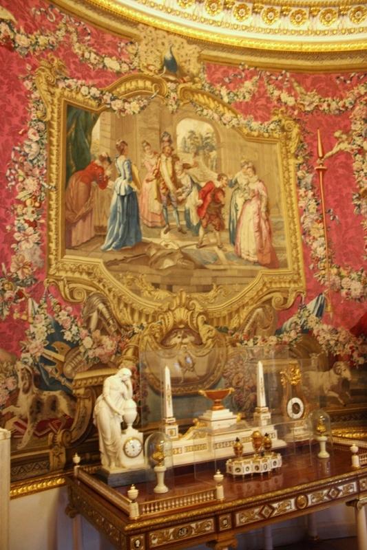Павловский дворец. Ковровый кабинет. Гобелен. Франция. 1776 г.