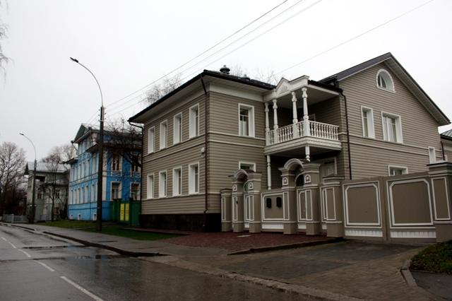 Вологда, улица Ленинградская.