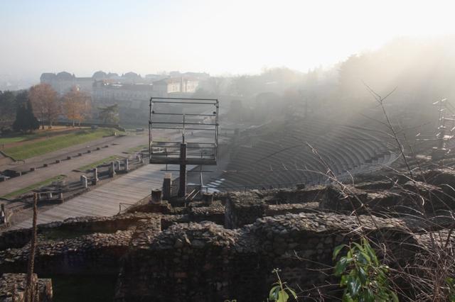 Лион  Раскопки римского амфитеатра