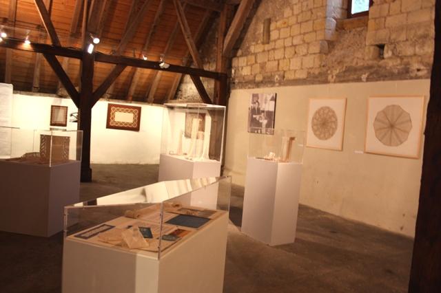 Выставка французских кружев в Фондетт (Тур), июль 2012.