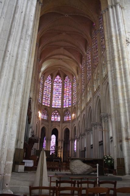 Тур (Tours). Собор святого Гатиана (Cathédrale St-Gatien, XIII-XVI).