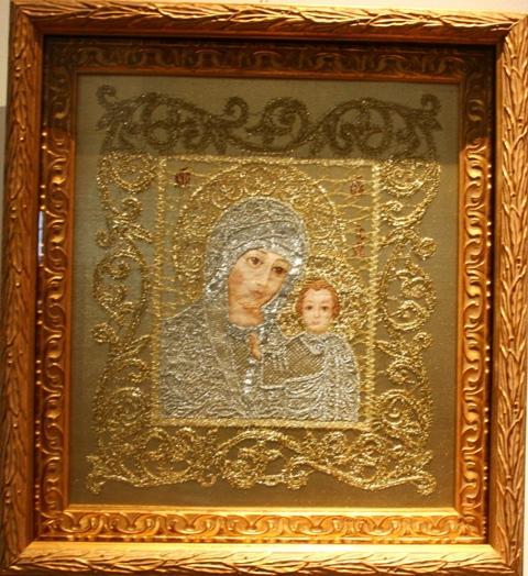 Икона  «Образ Пресвятой Богородицы «Казанская»». Н. С. Кирсанова