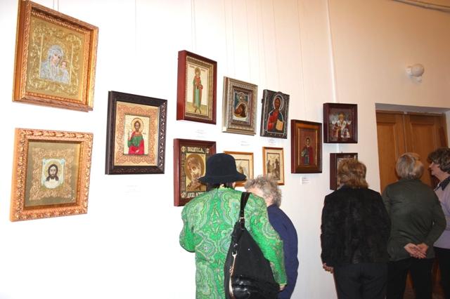 Выставка икон. ЦДРИ. Москва. Март 2014 г.