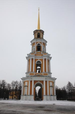 Рязань. Кремль. Соборная колокольня. (1789-1840 гг.)