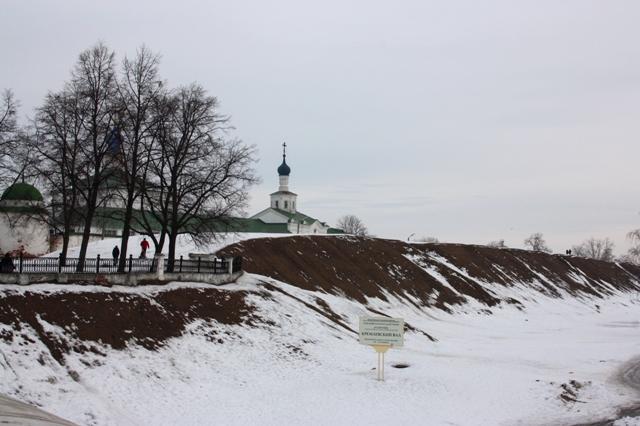 Рязань. Кремль. Крепостной вал (XII – XVII вв.)