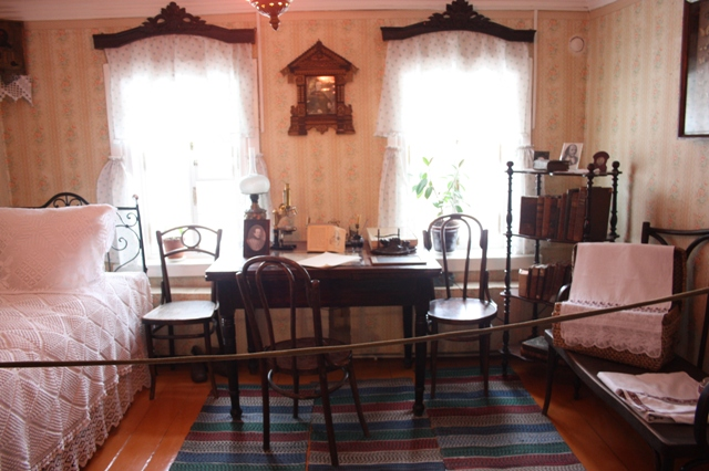 Музей академика И. П. Павлова в Рязани, его комната.