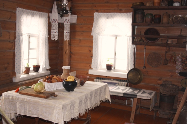 Музей академика И. П. Павлова в Рязани, кухня.
