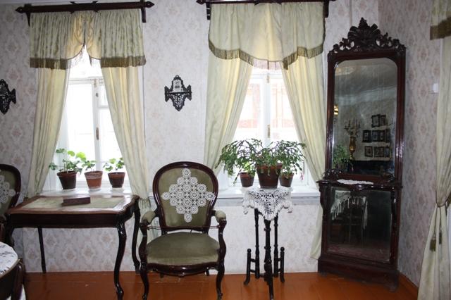 Музей академика И. П. Павлова в Рязани, гостиная.