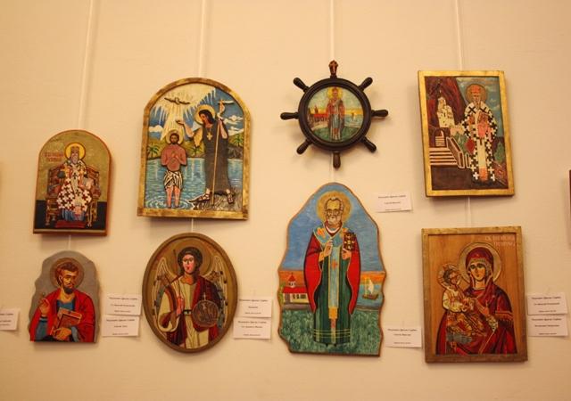 Иконы Драган Радунович. Сербия.