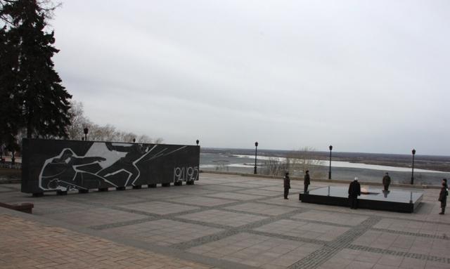 Нижний Новгород. Кремль. У вечного огня.