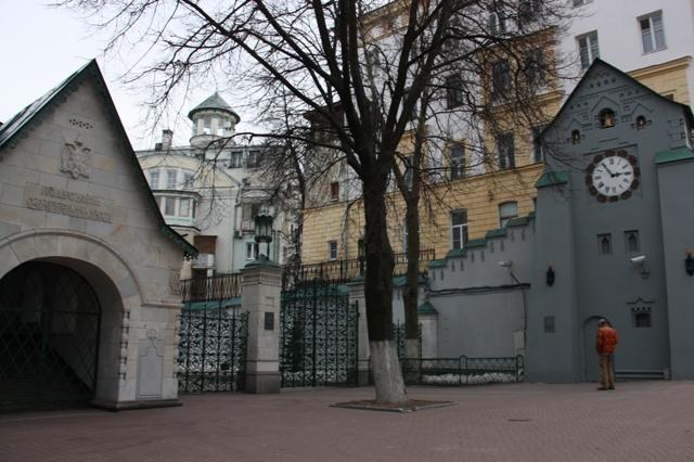 Нижний Новгород. Улица Большая Покровская, 26. 1913 год, архитектор В. А. Покровский.