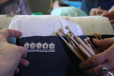 Мастер-класс по плетению венгерского кружева «хуния».