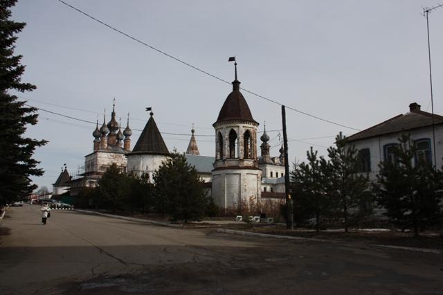 Юрьев-Польский. Михайло-Архангельский монастырь (XVII в.)