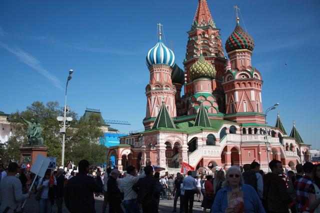 9 мая 2015 года. Москва. Бессмертный полк.