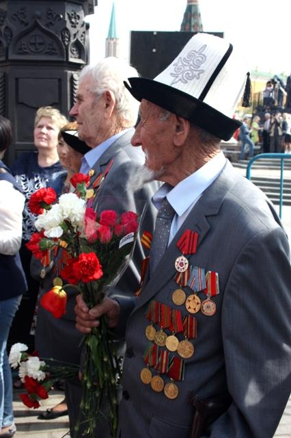 9 мая 2015 года. Москва. Ветераны Великой Отечественной войны.