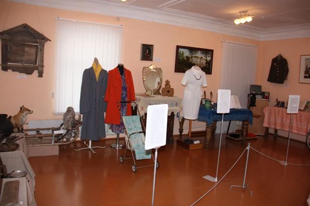 Городец. Краеведческий музей. Зал новых поступлений.