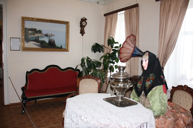 Городец. Краеведческий музей. Экспозиция «Городец купеческий».