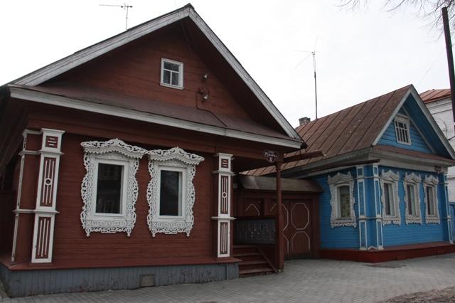 Городец. Улица Андрея Рублёва.