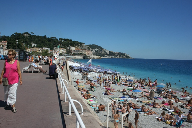Бесплатные пляжи Ниццы (Nice).