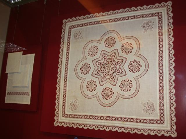 Вологда, выставка «Датское кружево: история и современность».