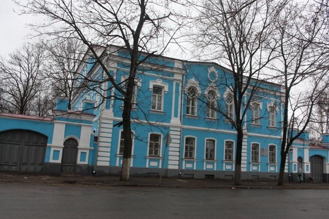 Елец. Городской краеведческий музей. Улица Ленина (бывшая Манежная), 99.