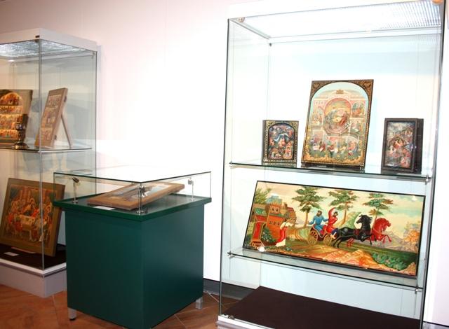 Выставка работ студентов ВШНИ в Вологде, 2015 г.