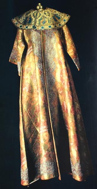Платно с бармами. Принадлежал царю Петру Алексеевичу (Петру I).