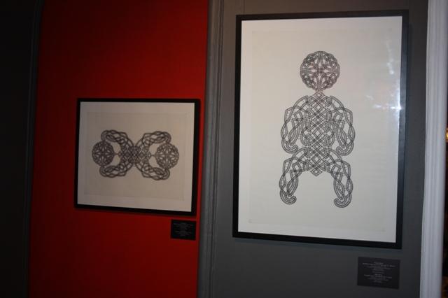 Экспозиция «DNA Dark Lace», Ольга Берг, сколки.