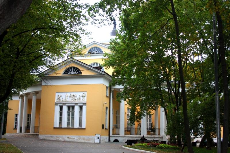 Дом-дворец  Н. А. Дурасова в усадьбе Люблино, 1801 г.,